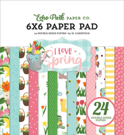 PaperPad Echo Park - I Love Spring 6""