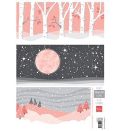 Knipvel Marianne Design - Eline's  Snowflake Kisses