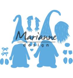 Snijmal Marianne Design - Tomte Gnome