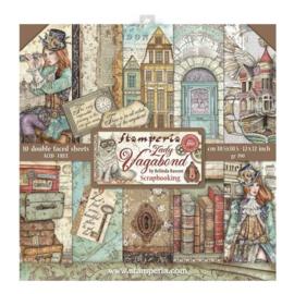 "12"" PaperPad Stamperia - Lady Vagabond"