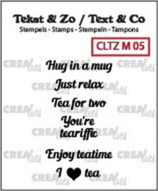 Clear Stamp -Hug in a mug