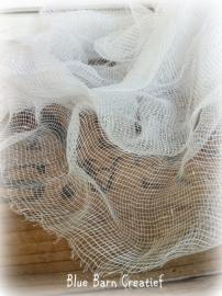 Wit katoenen kaasdoek (cheesecloth) 92 x 92 cm