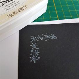 StazOn pigment stempelkussen - 'Snowflake'