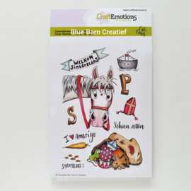 Clear Stamp CraftEmotions - Sinterklaas 1