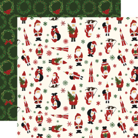 "PaperPad Echo Park - Here comes Santa Claus (12"" Kit)"