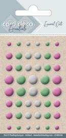 Card Deco Enamel Dots - Mix 4