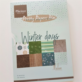 PaperPad Marianne Design A5 - Winter Days