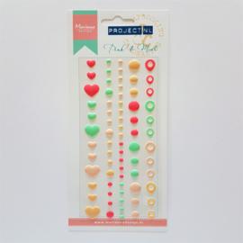 Marianne Design Enamel Dots - Pink & Mint