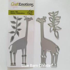 Snijmal CraftEmotions - Giraf