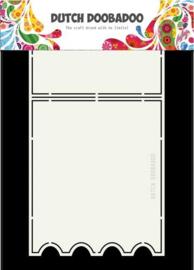 Dutch Doobadoo Stencil - Ticket mal (A5-formaat)