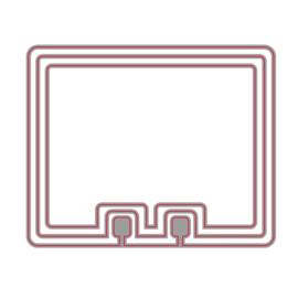 Snijmal Rolodex No.1  - rechthoek afgerond