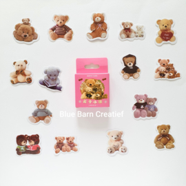 Planner Stickers - Teddy Beren (set 45 stuks)