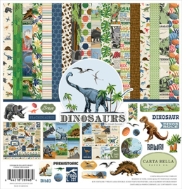 "PaperPad Carta Bella - Dinosaurs (12"" Collection kit)"