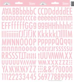 Doodlebug Skinny Stickers - Cupcake roze
