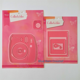 Snijmal Marianne Design - Instant Camera (+bonus)