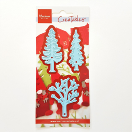 Snijmal Marianne Design - Forest Trees (set 3 stuks)