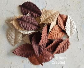Rozenblaadjes gemengd bruin - set 25 stuks