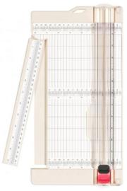 Papiersnijder met rilfunctie 15x30,5cm