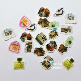 Planner Stickers - Foto Camera's (set 50 stuks)