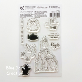 Clear Stamp CraftEmotions - Pinguin 1