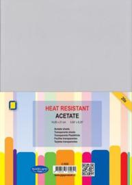 Hittebestendige transparante sheets (A5 formaat)