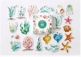 Planner Stickers - Onderwater Wereld (set 40 stuks)