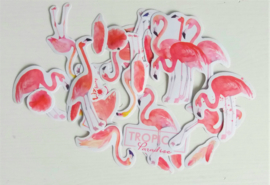 Planner Stickers - Flamingo