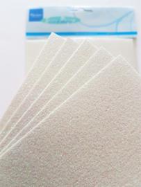 Sneeuwpapier A5-formaat (set 5 stuks)