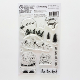 Clear Stamp CraftEmotions - Santa 2