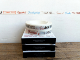 Masking Tape - Thank You