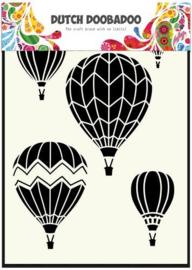 Dutch Doobadoo Mask - Luchtballonnen A5