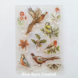 Craft Consortium Clear Stamps - Woodland Birds