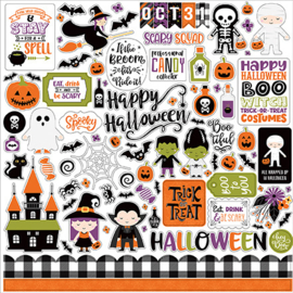 Echo Park Stickers - I Love Halloween