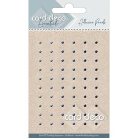 Card Deco Zelfklevende Parels - blauw