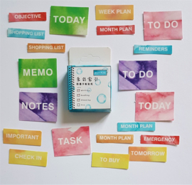 Planner Stickers - To Do (set 40 stuks)