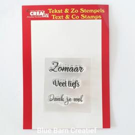 CreaLies clear stamp - Zomaar
