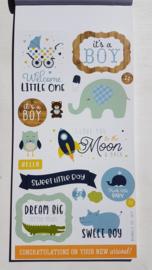 Echo Park stickers - Baby Boy sticker book
