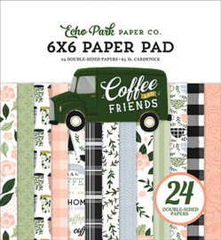 """PaperPad Echo Park - Coffee and Friends 6"""""""