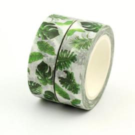 Masking Tape - Tropische Bladeren