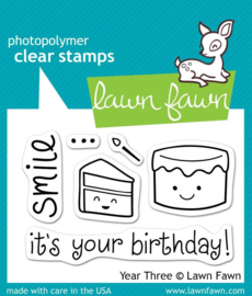 Clear Stamp Lawn Fawn - Year Three
