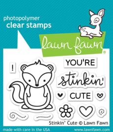 Clear Stamp Lawn Fawn - Stinkin' Cute