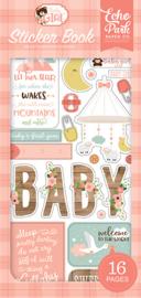 Echo Park stickers - Baby Girl sticker book