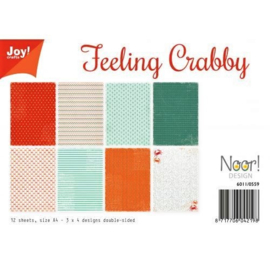 PaperPad Joy!Crafts - Feeling Crabby (A4-formaat)