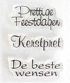 Clear Stamp - K 07 - Tekst & Zo Stempels
