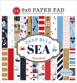 PaperPad Carta Bella  - Deep Blue Sea 6""