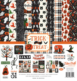 "PaperPad Echo Park - Trick or Treat (12""Kit)"
