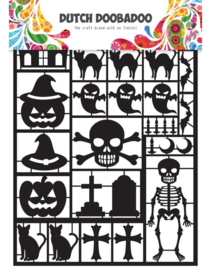 Paper Art 472.950.001 - Black Halloween