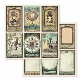 PaperPad Stamperia - Voyages Fantastiques