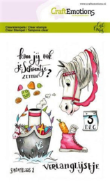 Clear Stamp CraftEmotions - Sinterklaas 2 (A6 formaat)