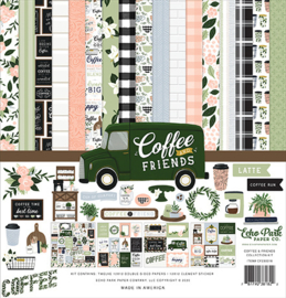 """PaperPad Echo Park - Coffee and Friends (12"""" Kit)"""